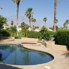 SOLD!  Beautiful Villa with Private Salt Water Pool/Spa and West Facing Views – 29705 E TRANCAS – LISTING #217015950