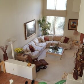 SOLD!  2 STORY UPDATED LARGE 3 BEDROOM/3.5 BATH VILLA WITH WEST FACING VIEWS! – 29667 E. Trancas –  LISTING #218002366