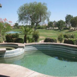 SOLD!  JUST REMODELED!  3 BEDROOM VILLA – YOU OWN THE LAND- PRIVATE POOL/SPA – 29457 W. LAGUNA – LISTING # 219000193 –
