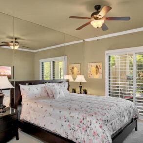 VACATION RENTAL: 28802 Desert Princess Dr.  REMODELED 2 MASTER SUITE END UNIT CONDO – STEPS TO POOL