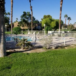 NEW LISTING – 2 BEDROOM CONDO WITH GREAT LOCATION STEPS TO POOL – 29046 DESERT PRINCESS DR – LISTING #219012325