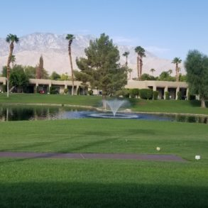 SOLD!  REMODELED STUNNING 3 BDRM END UNIT CONDO-WEST FACING TO POND W/FOUNTAIN – MOUNTAINS & COURSE – 29039 ISLETA CT – LISTING #219023487